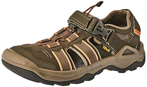 Teva Water Shoes - Teva Men's M Omnium 2 Sport Sandal, Black Olive, 10.5 M US