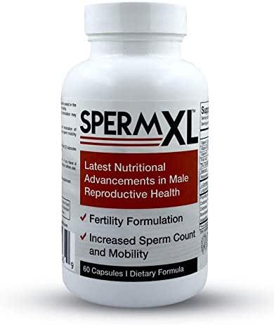 SPERM XL - Sperm-Count, Fertility & Mobility Nutritional Supplements for Men