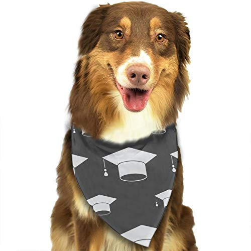 FortniteCOM Dog Bandana Graduation Caps Triangle Bibs Scarf Printing Kerchief Set Accessories Dogs Cats Pets ()