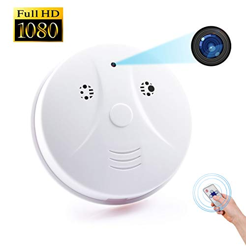Littleadd Hidden Camera Detector [2019 Upgraded]-1080P HD Spy Camera Motion Activated Video Recording Security Camera Nanny Cam