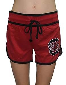 Womens SOUTH CAROLINA GAMECOCKS Running / Athletic Shorts M Red