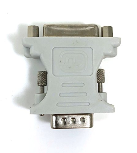 Micro Connectors, Inc. DVI Analog Female to VGA Male Adapter (G08-216)