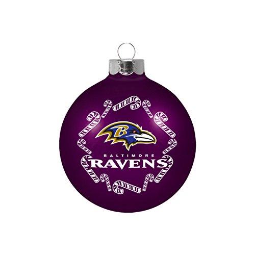 NFL Baltimore Ravens Small Ball Ornament