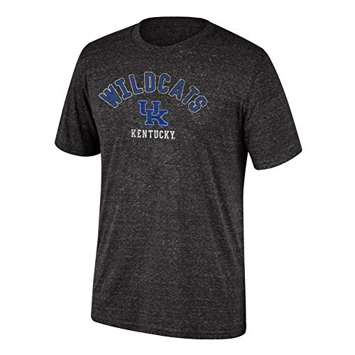 A Men's Kentucky Wildcats Dark Heather Heritage Tri-blend Tee Black Heather XX Large ()