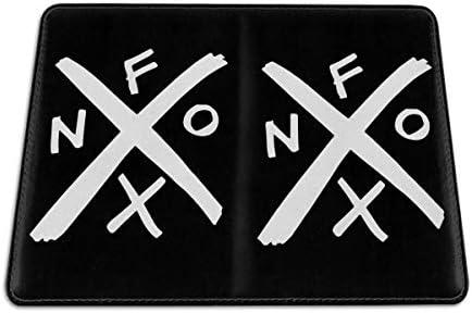 ノーエフエックス NOFX パスポートケース メンズ 男女兼用 パスポートカバー パスポート用カバー パスポートバッグ 小型 携帯便利 シンプル ポーチ 5.5インチ高級PUレザー 家族 国内海外旅行用品
