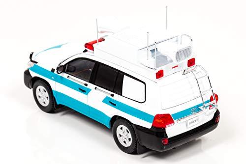 Hiko seven RAI'S 1/43 Toyota Land Cruiser GX (URJ202) 2013 Police Security Unit riot Police Commander Vehicle Finished Product