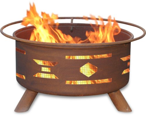 Cheap Patina Products F101,  30 Inch  Mosaic Santa Fe Fire Pit