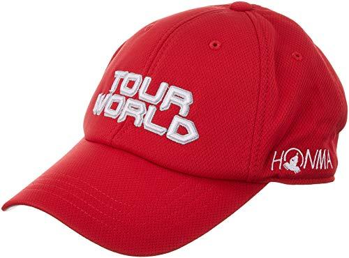 本間ゴルフ TOUR WORLD 831-419601 メンズ レッド FREE(57~59cm)