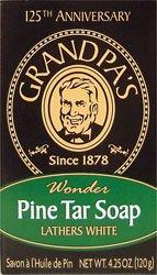 Price comparison product image Grandpas Soap Bar Pine Tar