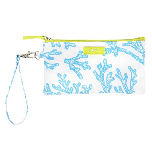 (Scout Kate Wristlet, Lightweight Wristlet Wallet for Women, Small Clutch Wristlet with Strap (Multiple Patterns Available))