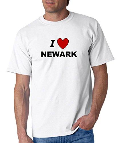I LOVE NEWARK - City-series - White T-shirt - size -