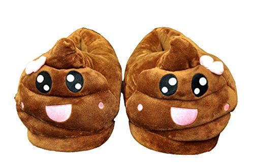 High Qualty Emoji Slippers (Girl poop)