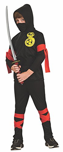 Haunted House Childs Black Costume