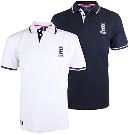 Inglaterra Cricket Classic Pique Polo, Azul: Amazon.es: Deportes y ...