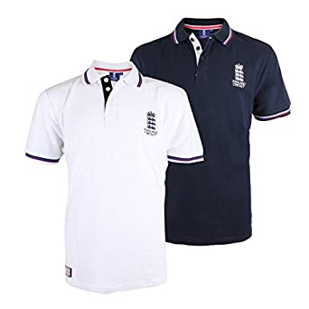 ec745eef699 England Cricket Classic Pique Polo - Navy - X Small: Amazon.co.uk: Clothing