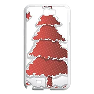 Beautiful Christmas tree Popular Case for Samsung Galaxy Note 2 N7100, Hot Sale Beautiful Christmas tree Case