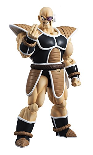 TAMASHII NATIONS Bandai S.H. Figuarts Nappa Dragon Ball Z Action Figure