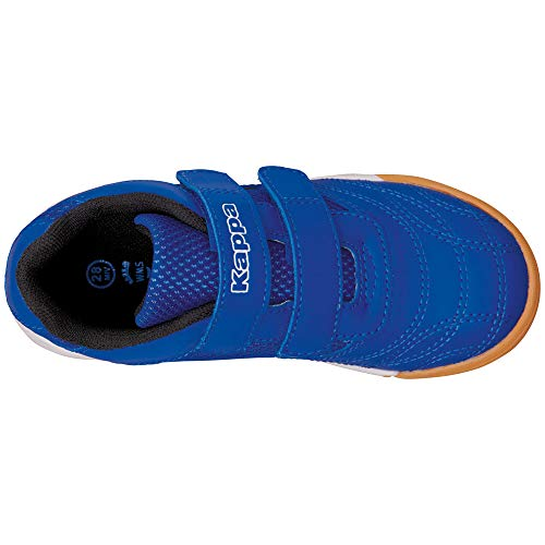 Baskets Basses 6011 Mixte Kickoff blue Enfant black Kappa Bleu TqS7zwna