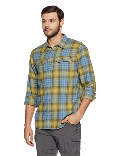 Columbia Mesh Vest - Columbia Men's Silver Ridge Flannel Long Sleeve Shirt, X-Large, Mossy Green