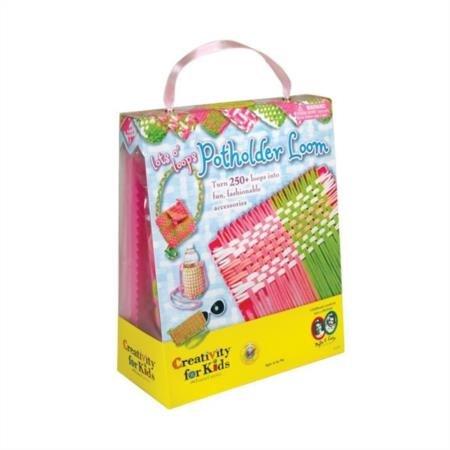 Creativity for Kids Lot's O'Loops Potholder Loom - Weaving Loom for Kids ()