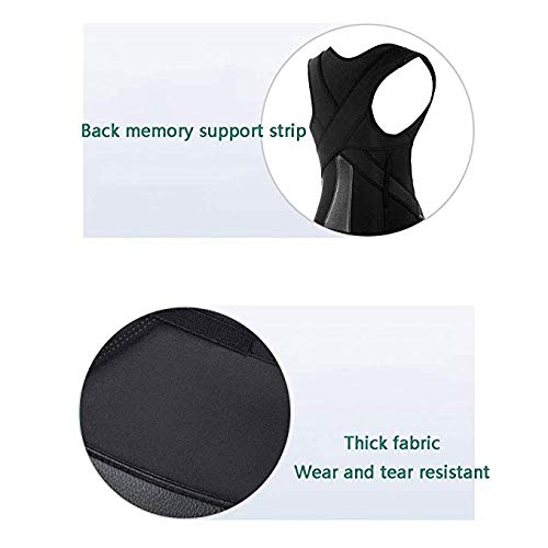 JCM Men and Women with Back Correction Artifact Spine Correction ZJ (Size : XL)