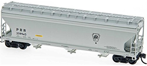 Intermountain N-Scale ACF 4650 3-Bay Covered Hopper Pennsylvania Railroad/PRR (Scale Pennsylvania Railroad)