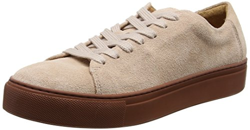Top Low Sfdonna Blush Sneakers Women's New Selected Suede Multicolor HPXX4