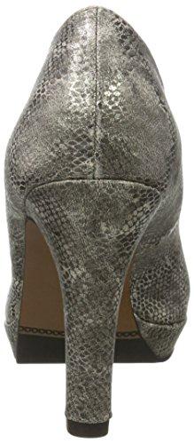 para de Mujer s 22400 Struct Taupe Tacón 397 Zapatos Marrón Oliver Z4qx1wXxg