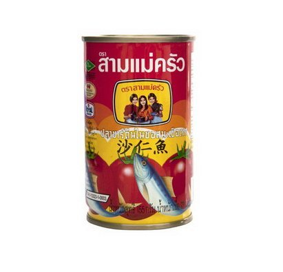 [Three Lady Cooks Brand Sardines in Tomato Sauce Thai Canned Fish 155g. / 1 CAN] (Quaker Costumes)