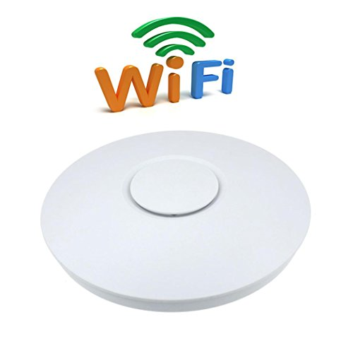 [Lary intel 300Mbps High Power Router Wifi Wireless Wall Mount Ceiling AP Access Point FHRG] (Intel Wireless Router)