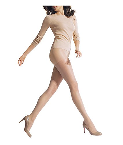 HUE Age Defiance Pantyhose with Control Top Natural 2