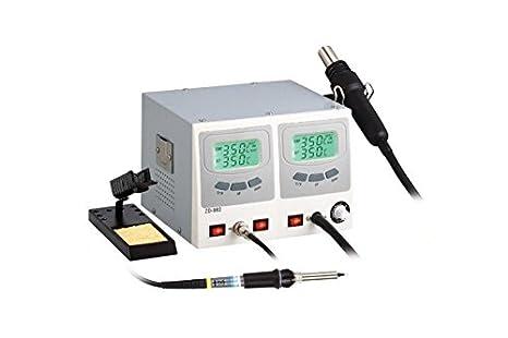 Estación soldadura desoldar zd-982 capacitivo Aire Caliente Soldadura Desoldar Hot Air para componentes SMD