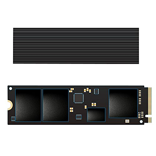 Gnome Tech 560W/mk SSD Heatsinks DIY Laptop PC Memory Cooling Fin Radiation Dissipate (560w Memory)