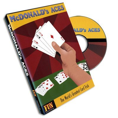 Fun, Inc. McDonald's Aces (with Cards) by Royal Magic - DVD: Toys & Games