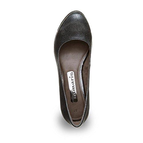 Tamaris 1-22435-27 zapatos de tacón alto para mujer Schwarz