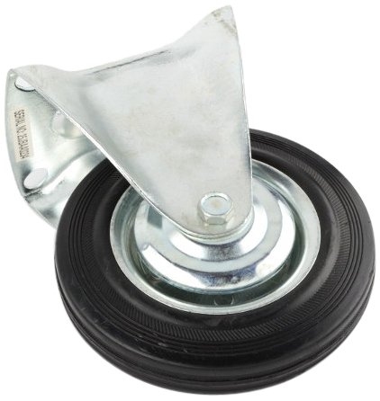 ATE Pro. USA 97886 Fixed Caster, Light-Duty, 6''