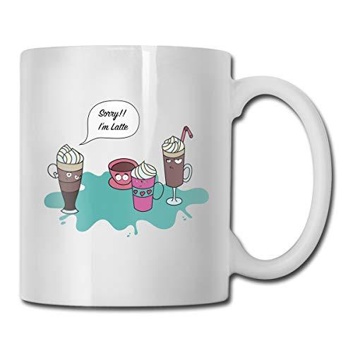 Halo Kettle (AiguanSorry, I'm Latte Anger Cup Coffee 11oz Tea Cup Coffee Mug)