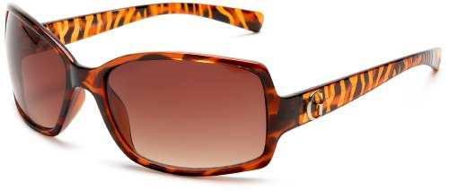 Guess Sunglasses Women Rectangle Tortoise