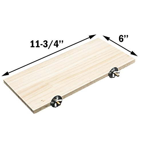 - GNB Pet Natural Wood Stand Platform 6''x12'' For Hamster Mice Chinchilla Chipmunk, Small Animals Habitat Toy HM-10