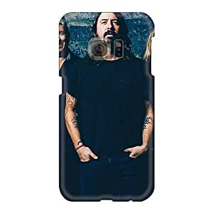 EricHowe Samsung Galaxy S6 Comfortable Phone Hard Covers Custom Beautiful Foo Fighters Band Pattern [aJQ3362abJv]