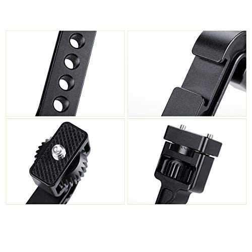 """AgimbalGear DH11 Extension Plate for DJI Ronin S/Ronin SC 1/4"""" Monitor Mount Video Light Cold Shoe Adapter Magic Arm Bracket Multi-Functional Gimbal Accessories"""