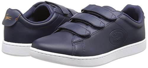 092 nvy Mujer Zapatillas Carnaby Evo Para Lacoste wht Azul 3181 Spw Strap P1T4nAWq