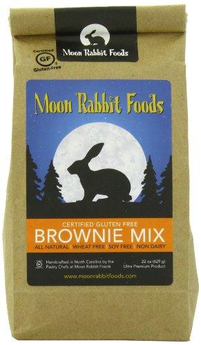 Moon Rabbit Gluten Free Chocolate Brownie Mix, 22-Ounce