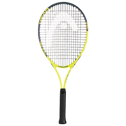 HEAD Tour Pro Tennis Racket - Pre-Strung Light Balance 27 Inch Racquet - 4 3/8 in Grip, Yellow ()