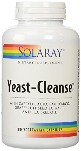 Candida Yeast (Solaray - Yeast Cleanse, 180)