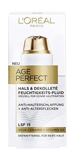 L'Oréal Paris Age Perfect Hals & Dekolleté Feuchtigkeitspflege, 1er Pack (1 x 50 ml)