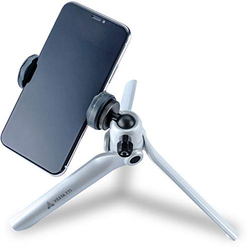 Mini Tripod for Camera and Mobile - Holds up to 2kg - White by Vanguard (Image #3)