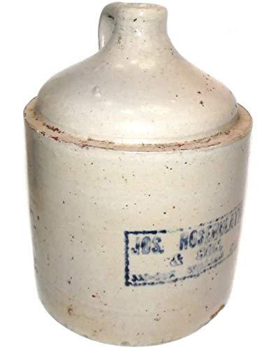 Antique Jos. Rosenblatt & Son Stenciled Stoneware Advertising Whiskey Jug - Antique Jugs Stoneware
