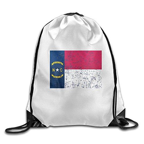 North Carolina Cool Drawstring Backpack Drawstring Bag