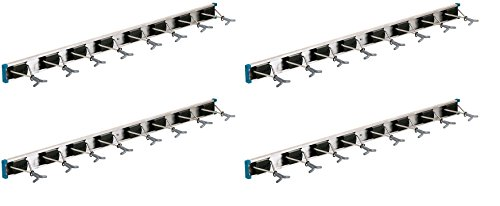 Crawford-Lehigh 36360-6 Ultra Hold Eight-Hook Tool Rack, 36 by 5-Inch (Pack of 4) by Crawford-Lehigh (Image #2)